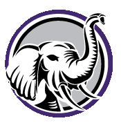 elephant trunk design logo
